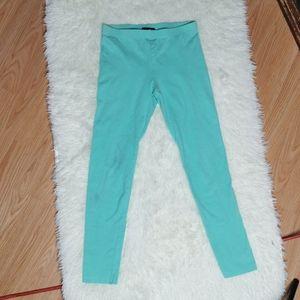 Turquoise leggings